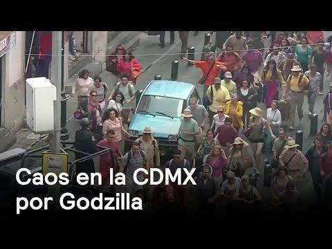 Filmación de Godzilla en la CDMX - CDMX  - En Punto con Denise Maerker