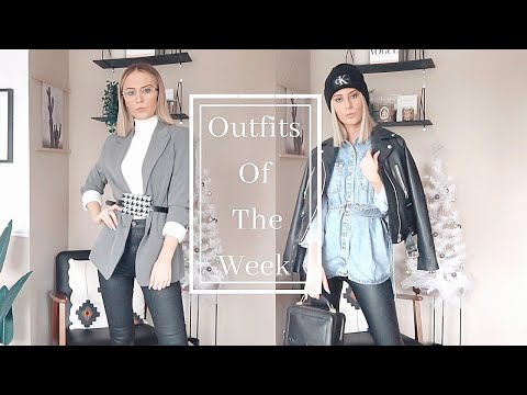 Winter Outfits Of The Week | 2020