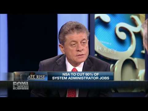 Judge Napolitano: NSA Data Used By IRS For Tax Fraud