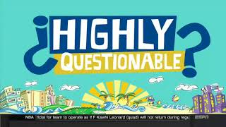 Highly Questionable (March 21, 2018) Take on sports issues in the news