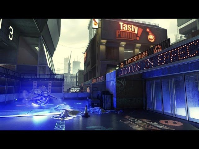 "Call of Duty: Advanced Warfare - ""Urban"" Map Tour - IGN Live"