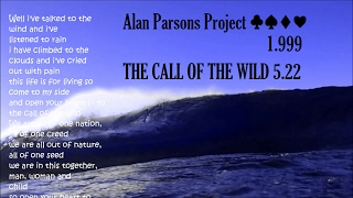 Watch Alan Parsons Project Call Of The Wild video
