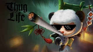 League of legends Thug life Teemo