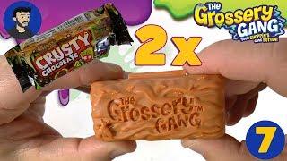 Grossery Gang - Crusty chocolate 2X  unpacking - met hulp van juf Jannie