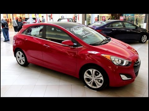 2013 Hyundai Elantra GT SE - Exterior and Interior Walkaround - Canon T4i Video