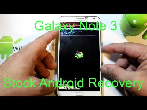 Samsung Galaxy Note 3 Stock recovery factory reset