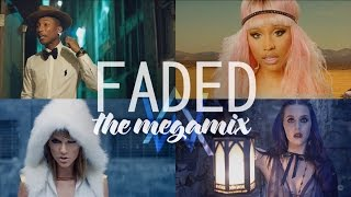 Video clip Faded – Ed Sheeran • Katy Perry • Nicki Minaj • Justin Bieber • Sia (The Megamix) T10MO