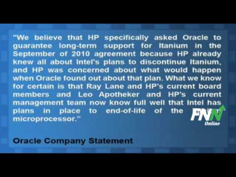 Oracle Issued A Statement Claiming HP Knew About Itanium End-Of-Life Plans