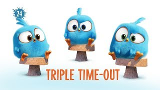 Angry Birds Blues   Triple Time Out - S1 Ep24 #NEW