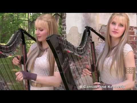 Camille and Kennerly, Harp Twins