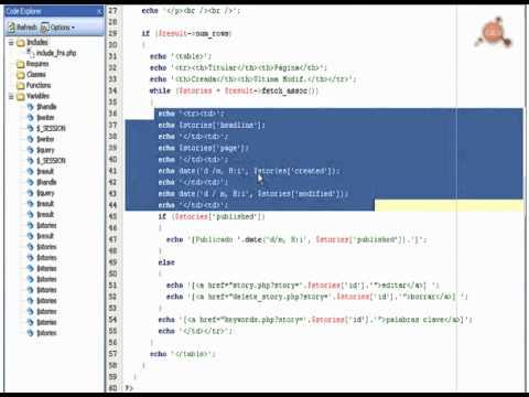 53.- Curso PHP-MySQL. Creación de un CMS III