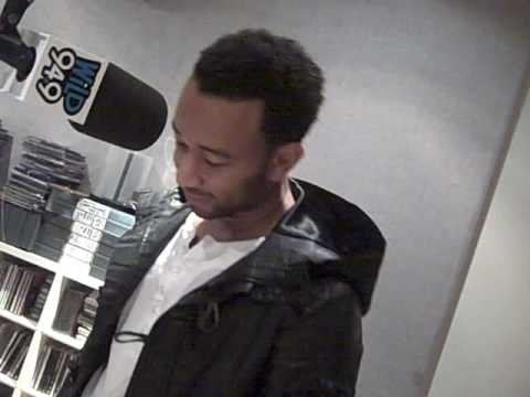 JOHN LEGEND INTERVIEW HILARIOUS!!!! WILD 94.9