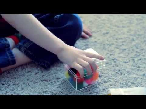 ASMR Child Playing With Treasure Box and Whispering