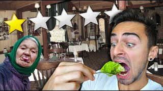 Eating at The Worst Reviewed Restaurant in Eastern Europe