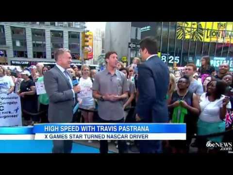 Motocross Master Travis Pastrana Takes on World of NASCAR