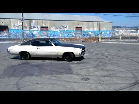 1970 ls2  chevelle donut's/power slide's (#1 on youtube!!)