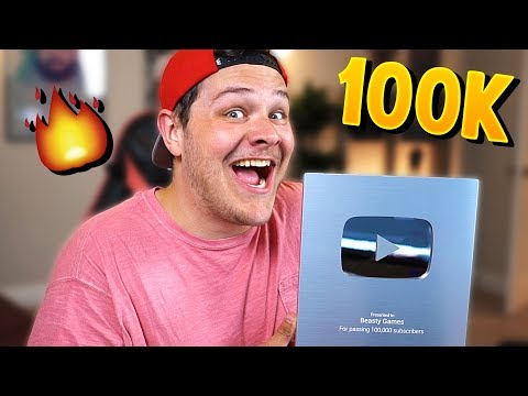 UNBOXING 100K SUBSCRIBER PLAY BUTTON