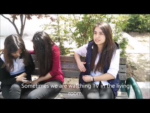 ESC- Turkey (EBAL)  Erasmus+ Interview about energy and recycling
