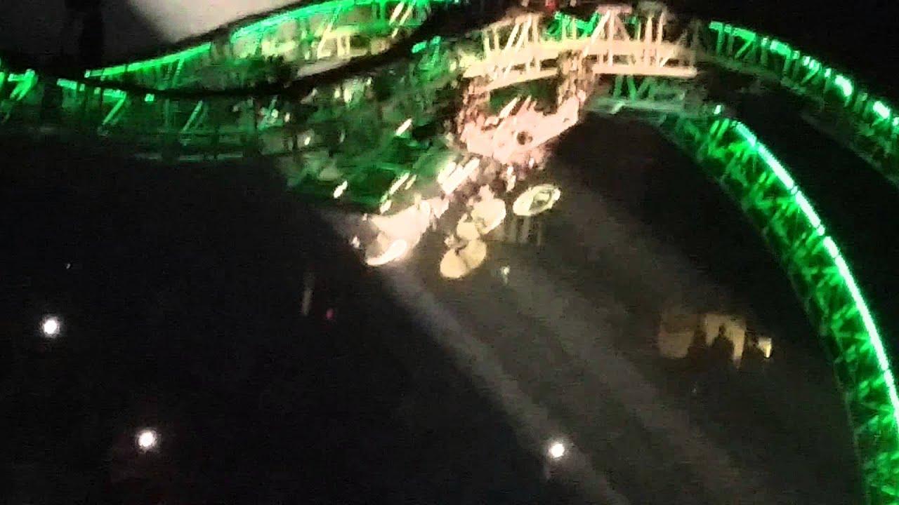 Motley Crues Final Tour Drum Stunt YouTube