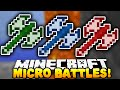Minecraft - SOLO MICRO BATTLES! #7 - w/ PrestonPlayz
