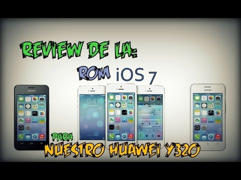[Review] Rom de iPhone para Huawei y320 ◢◤ [iOS 7 ROM]