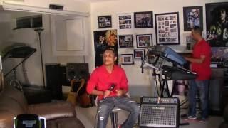 Ethiopian music Shewandagne Hailu Eyat Eyat cover by Tomas Ewnetu rehearsing for Calgary Concert
