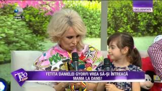 Teo Show 25 04 2017 Fetita Danielei Gyorfi Talentata La Dans Ce Miscari L A Invatat Pe Bursucu 39