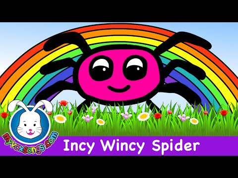 Incy Wincy Spider - Nursery Rhymes