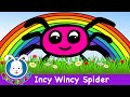 [Incy Wincy Spider (itsy bitsy spider) - classic nursery rhymes] Video