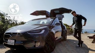 Young Man Chooses LIVING in a TESLA with FREE ENERGY over High Rent Prices