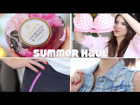 ♥ HUGE SUMMER HAUL (Victorias Secret, Target, WildFox..) + GIVEAWAY ♥