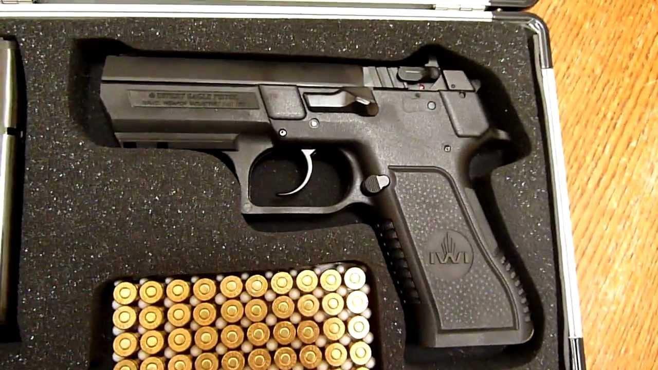 Baby 9mm Blued Desert Eagle Desert Eagle 9mm Iwi Baby