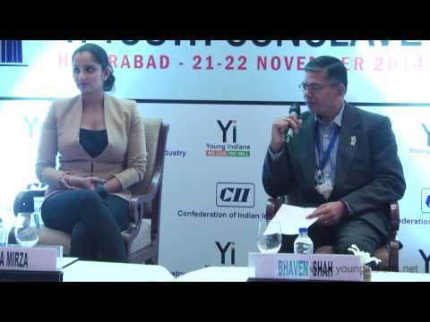 The Yi Youth Conclave  Hyderabad – 2014 : An Exclusive Session With Sania Mirza video