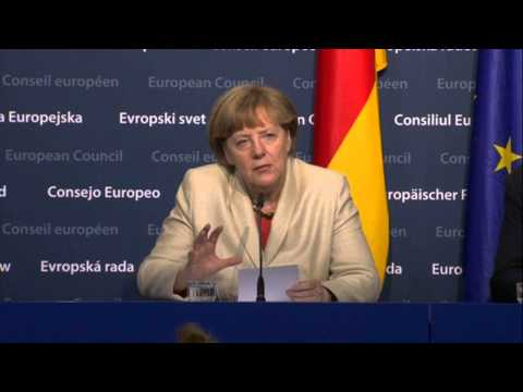 Special European Council - Angela MERKEL,