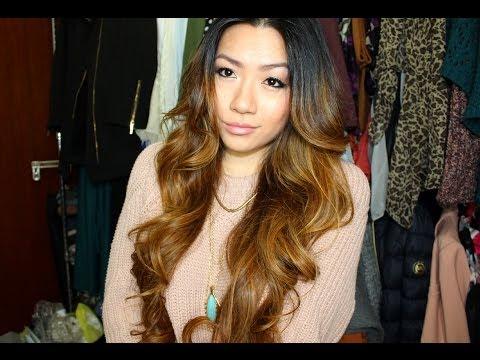 BIG Sexy Curls Hair Tutorial   MISSYANYI