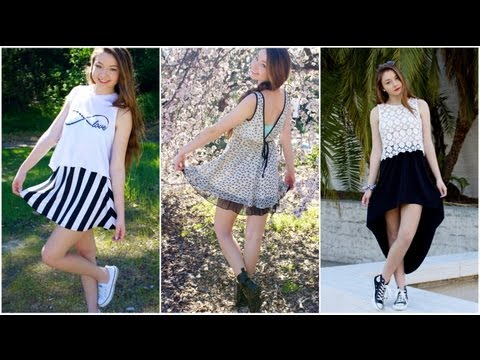 Spring Lookbook: Black & White