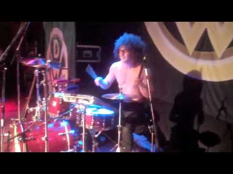 Down With Webster: Marty's Drum Solo Guelph 2009