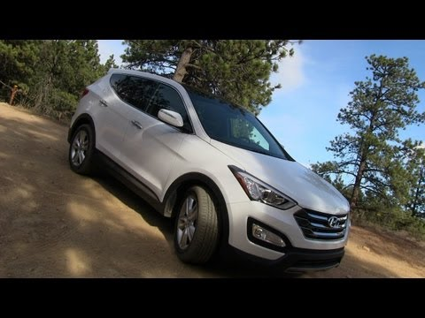 2013 Hyundai Santa Fe Sport AWD on & off-road Review
