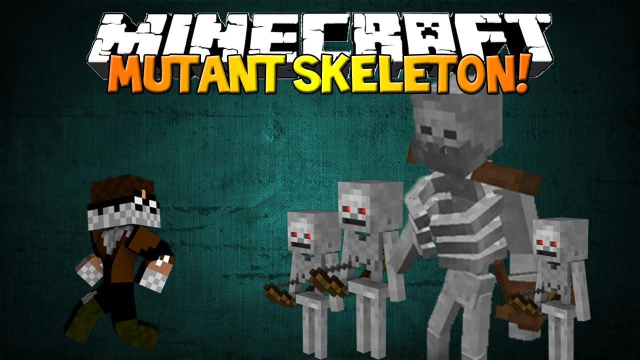Minecraft Mutant Skeleton Mod