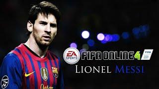Chơi thử Vua Phá Lưới Messi (FIFA ONLINE 4)