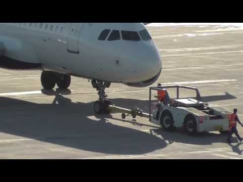 Delta Airlines A319-114 [N345NB] Gate G12 Pushback + Engine Startup | MSP