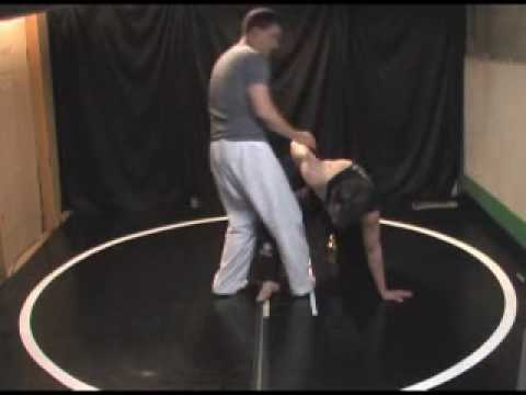 Catch Wrestling Double Wrist Lock - various standup techniques and takedowns Image 1