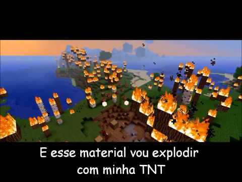 Minecraft Paródia Dynamite TNT Legendado em PT BR
