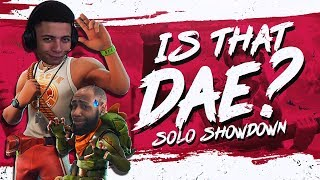 DAEQUAN IS IN MY GAME?! SOLO SHOWDOWN WIN (Fortnite BR Full Match)