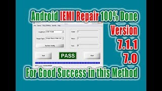 Invalid Imei repair Android 7.0 | 7.1.1 Successful
