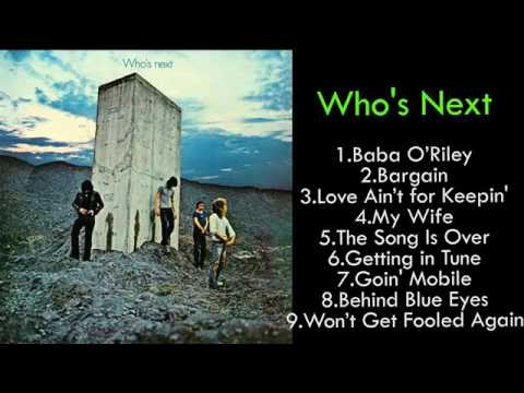 Download THE WHO . Who's Next Mp4 baru