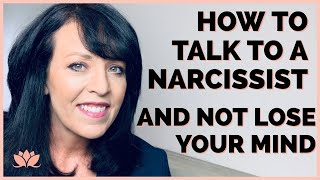 How To Deal with a Narcissist [Straight Talk]