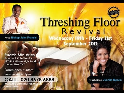 Threshing Floor Revival London 2012 Rucha Ministries With