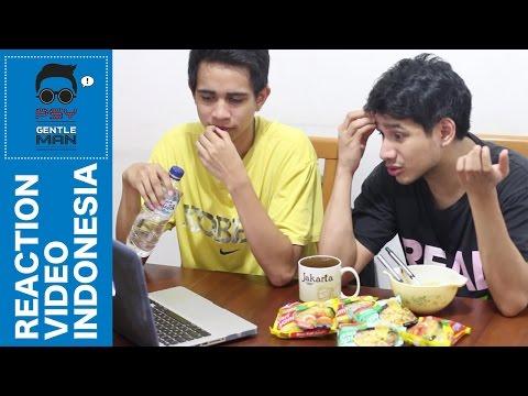 PSY Gentleman Reaction Video Indonesia