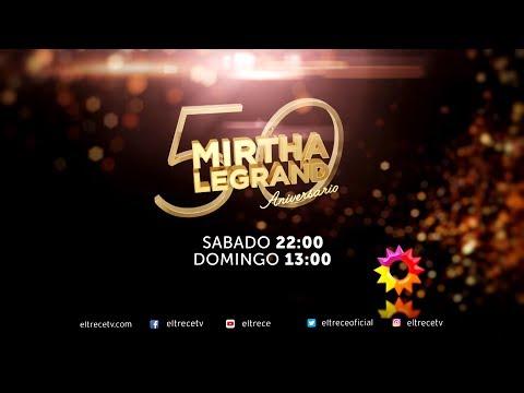 ¡Mirtha Legrand te espera este fin de semana con dos #Mesazas!